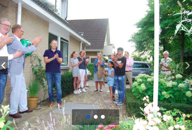 VAR NIEUWS: AED in wijk Broeckland Breukelen officieel in gebruik genomen