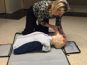 Herhalingscursus reanimatie AED bij wijkcentrum Breukelen Noord
