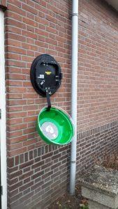 STAGfonds Stichtse Vecht  schenkt 5 AED-buitenkasten