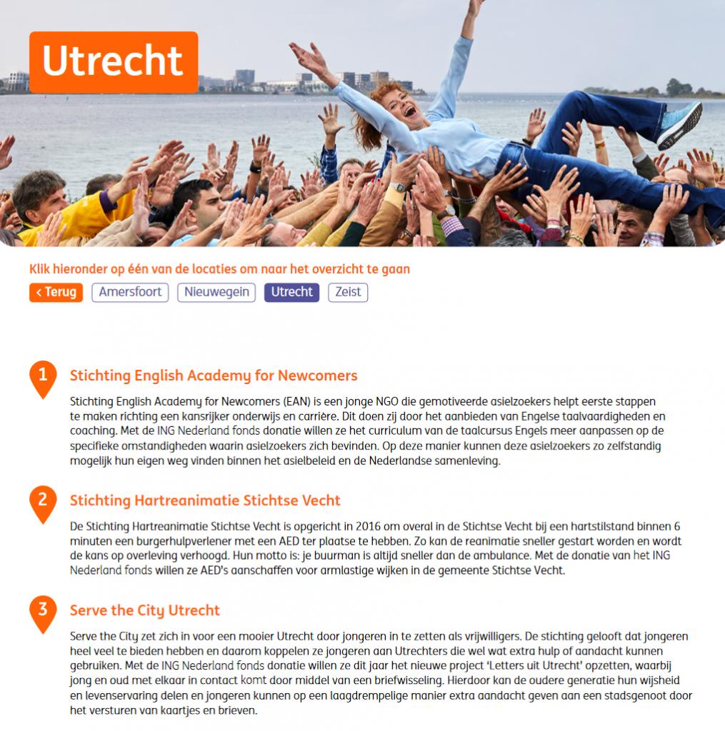 Help Nederland Vooruit - de 3 finalisten